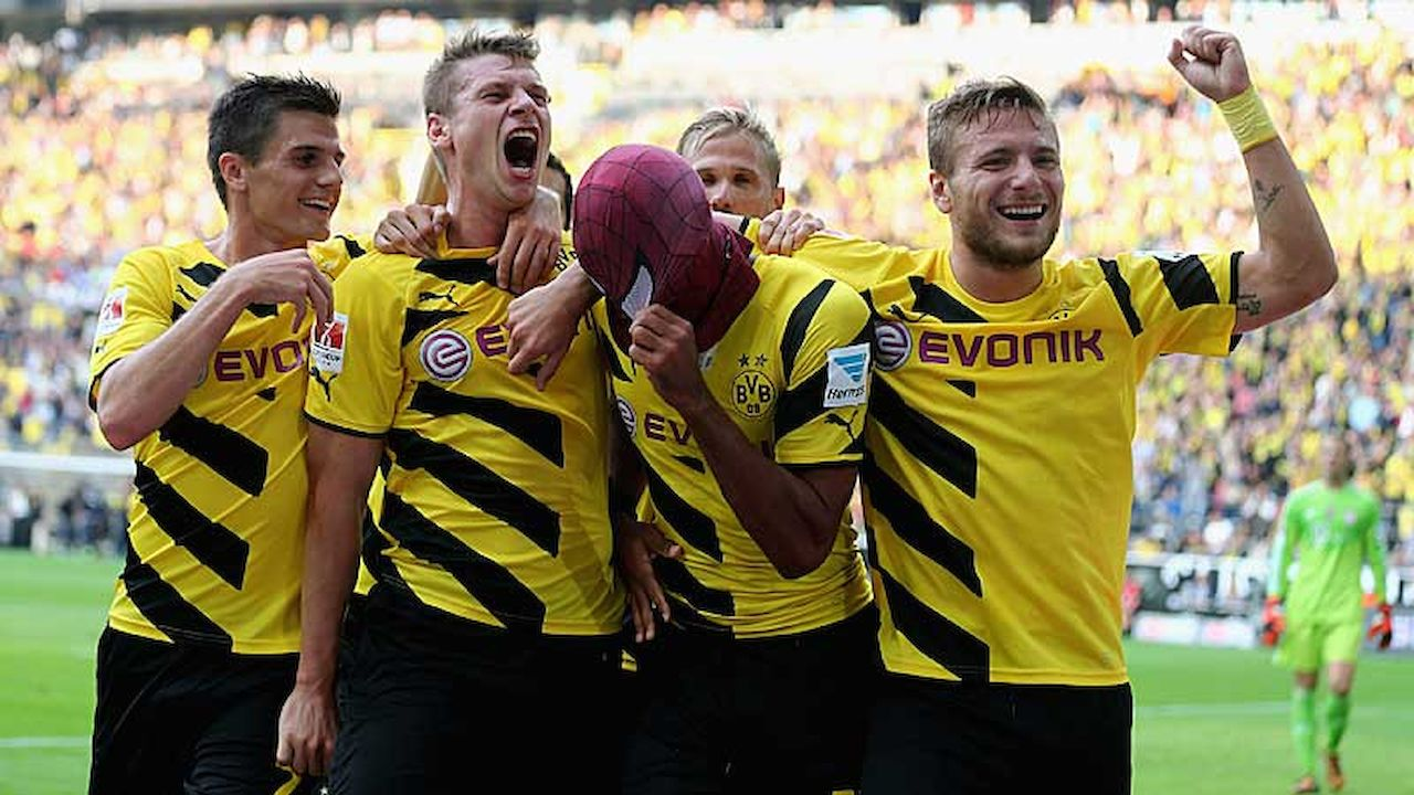 Dt supercup bvb bayern for Dt bundesliga tabelle