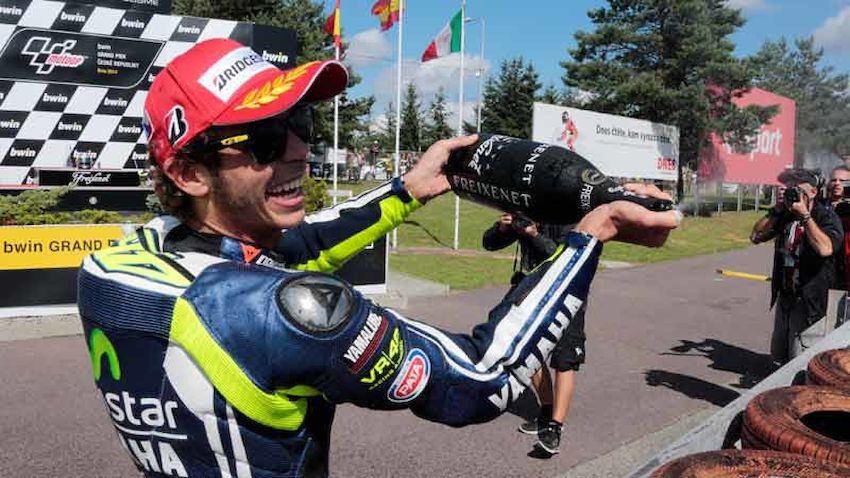 Rossi Verletzt