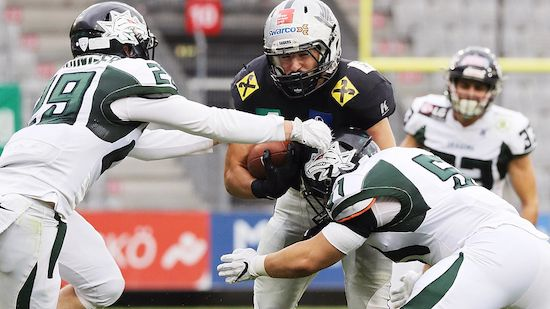 Raiders mühen sich in die Austrian Bowl XXXV