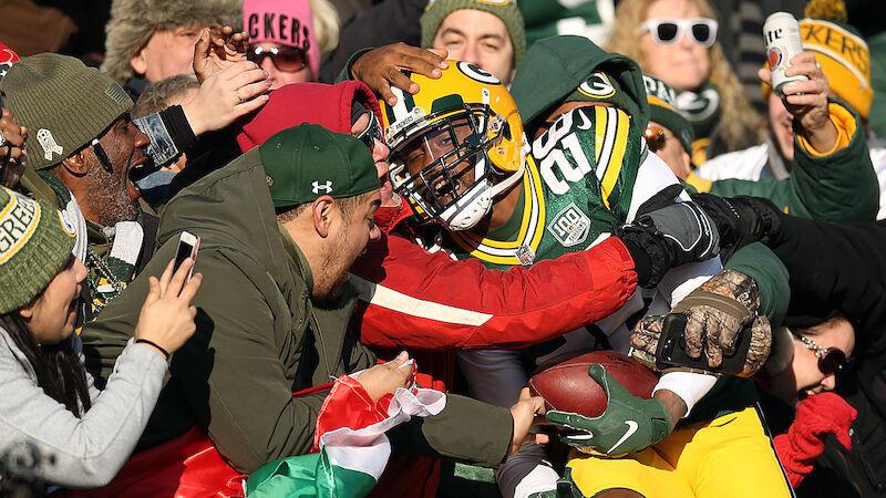 Packers wahren mit Sieg Mini-Chance auf Playoffs