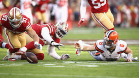 Mayfield patzt! 49ers bleiben in NFL makellos