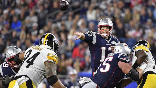 NFL: Patriots starten mit einem Kantersieg