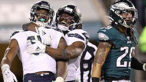 NFL-Playoffs: Seahawks komplettieren Divisionals