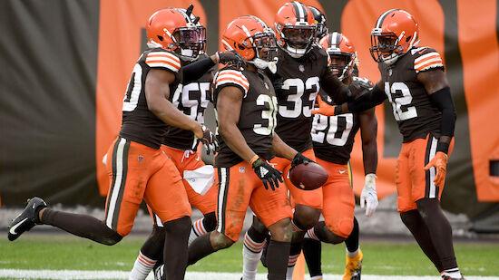 Cleveland Browns packen Playoff-Einzug