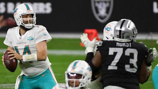 NFL: Dolphins halten Playoff-Chance am Leben