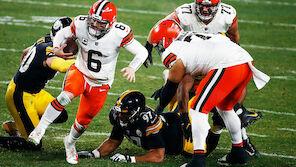 NFL-Playoffs: Cleveland führt die Steelers vor