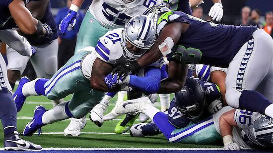 NFL-Playoffs: Dallas Cowboys eliminieren Seattle