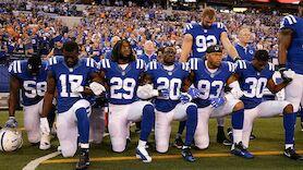 NFL-Teams mit massivem Protest bei US-Hymne
