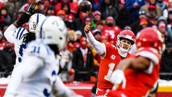 NFL-Playoffs: Kansas City Chiefs demontieren Colts