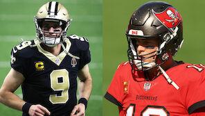 Brees vs. Brady: Duell der