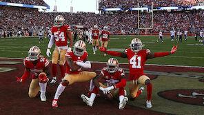 San Francisco 49ers laufen ins NFC-Finale