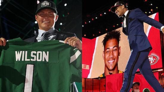 NFL-Draft 2021: So lief die 1. Runde