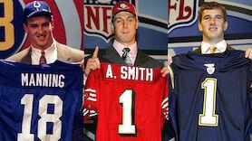Sie waren Nummer 1 im NFL-Draft