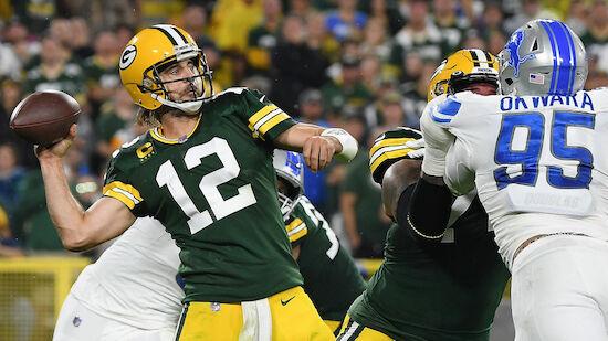 Packers gelingt gegen Lions Befreiungsschlag