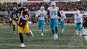 Steelers-Trio demütigt Miami