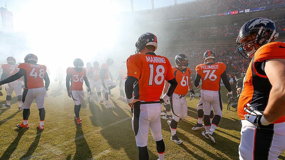 Die Karriere des Peyton Manning in Bildern