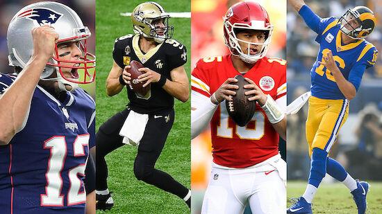 NFL: LAOLA1-Ranking der Playoff-Quarterbacks