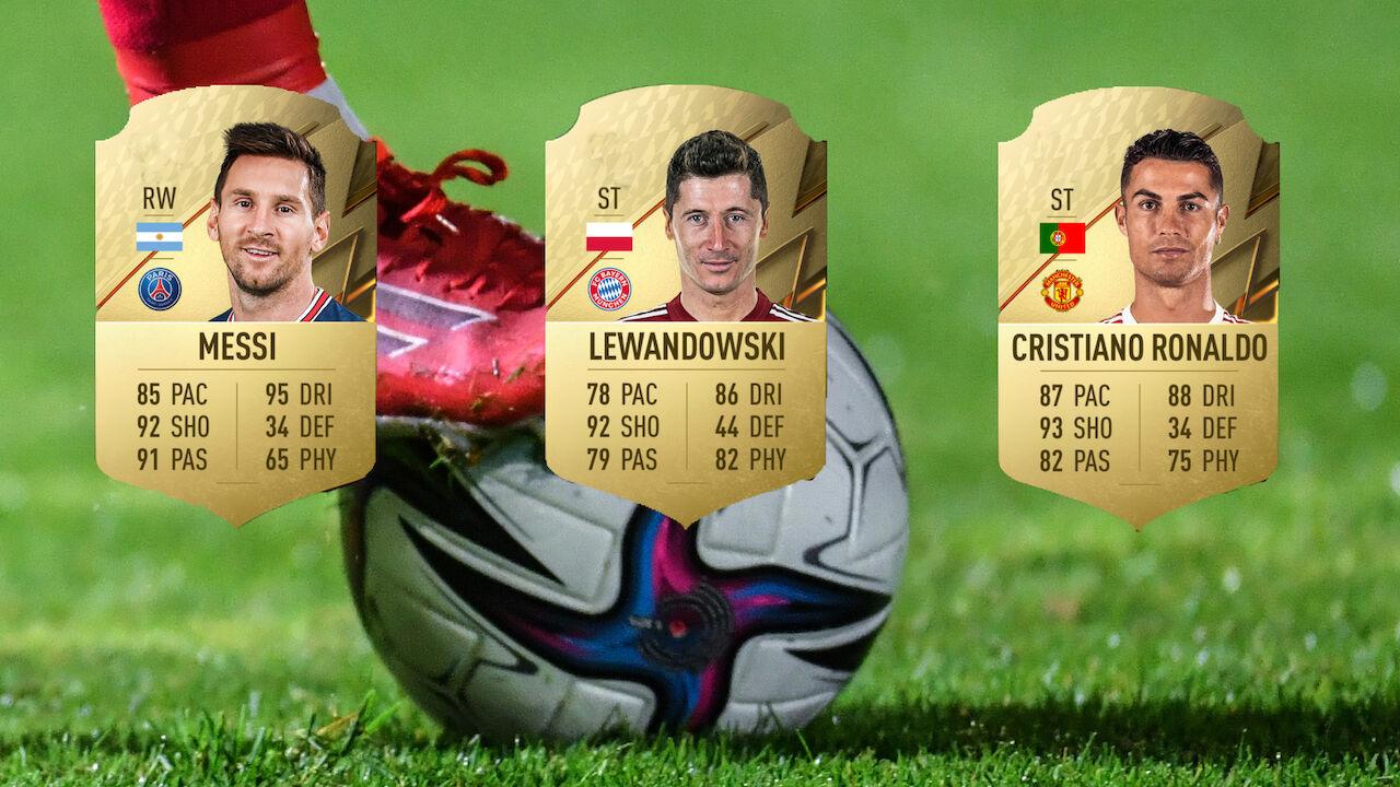 Die besten Spieler bei FIFA 22