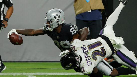 Raiders gewinnen Overtime-Thriller gegen Ravens