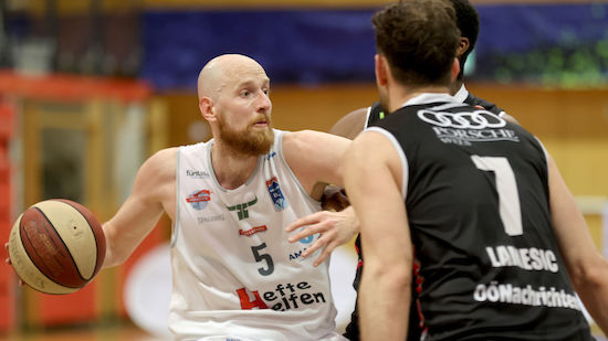Kapfenberg Bulls gewinnen Semifinal-Auftakt