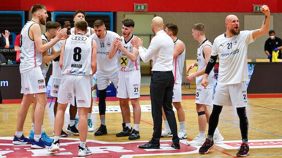 Wels, Oberwart und Gmunden im BSL-Halbfinale