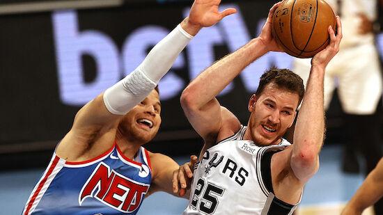 Spurs gehen mit Pöltl bei den Brooklyn Nets unter