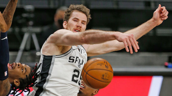 Jakob Pöltl knackt 1.000-Punkte-Marke für Spurs