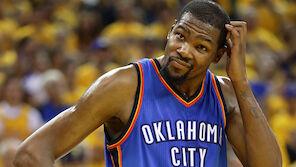 NBA-Erdbeben: Durant zu Warriors