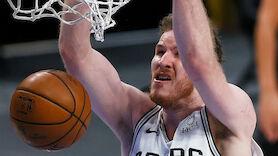 Pöltls Spurs trotz Niederlage im Play-in-Turnier