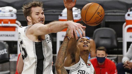 Jakob Pöltl feiert mit den Spurs 3. Sieg in Serie