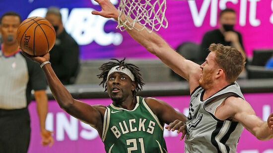 Spurs demontieren Bucks, Westbrook knackt Rekord