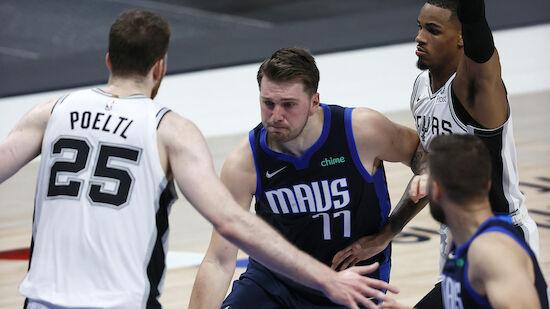 NBA: Pöltls Spurs verlieren gegen Mavericks