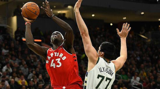 Toronto Raptors gewinnen Ost-Gipfel in Milwaukee