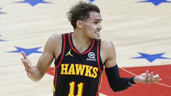 Hawks setzen Ausrufezeichen gegen 76ers