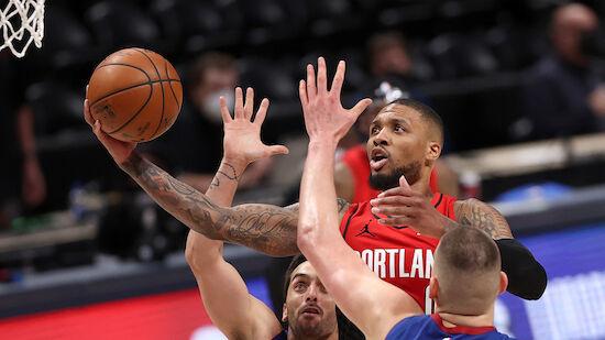 NBA-Playoffs: Blazers überraschen gegen Nuggets