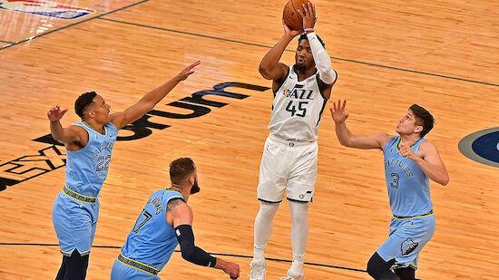Playoff-Siege für die 76ers und die Utah Jazz