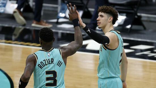 Hornets egalisieren gegen Raptors NBA-Rekord