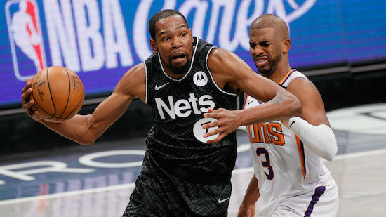 Nets gewinnen bei Durant-Comeback gegen Suns