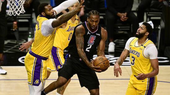 Los Angeles Lakers geraten unter Druck