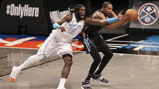 Lakers spielen gegen Nets groß auf