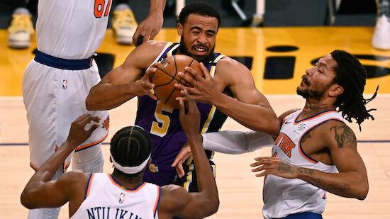 Lakers gewinnen Overtime-Krimi gegen Knicks