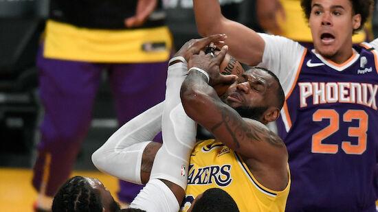 Titelverteidiger Lakers scheitert an den Suns