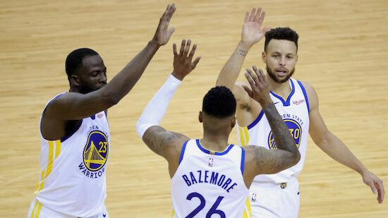 Curry führt Warriors im Krimi zu Sieg gegen Bucks