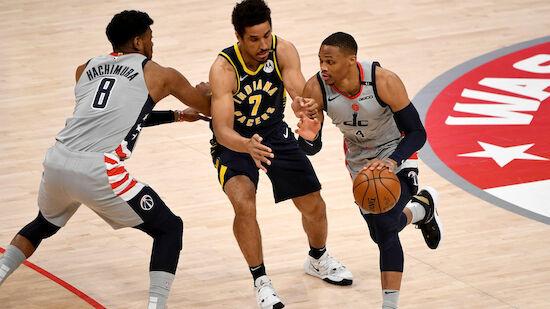 Wizards lösen mit Sieg über Pacers Playoff-Ticket