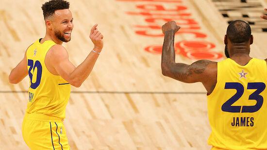 All-Star-Game der NBA geht an Team LeBron