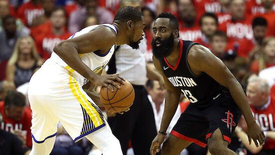 NBA: Warriors starten gegen Rockets furios