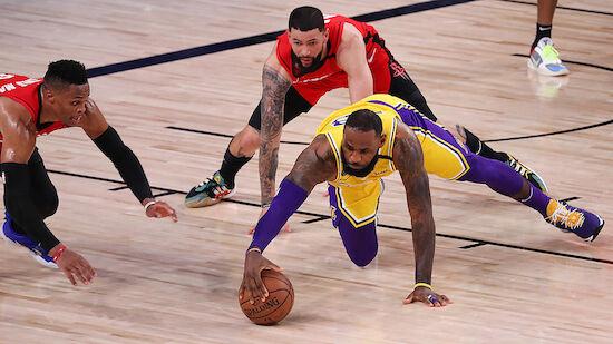 Lakers holen sich ersten Matchball gegen Rockets