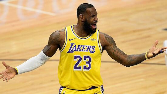 Lakers rutschen gegen Wizards aus
