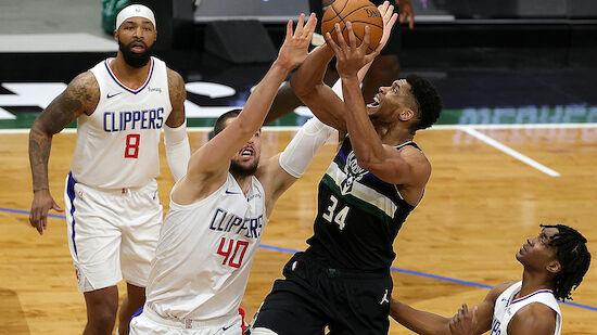 NBA: Aufholjagd der Bucks gegen die Clippers