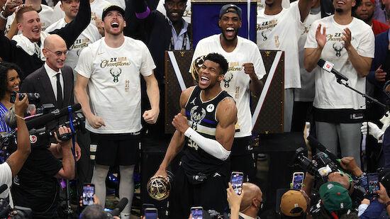 Milwaukee Bucks erstmals seit 1971 NBA-Champion